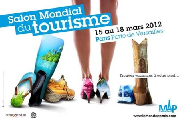 5 v nements sur le th me du voyage paris for Salon mondial tourisme