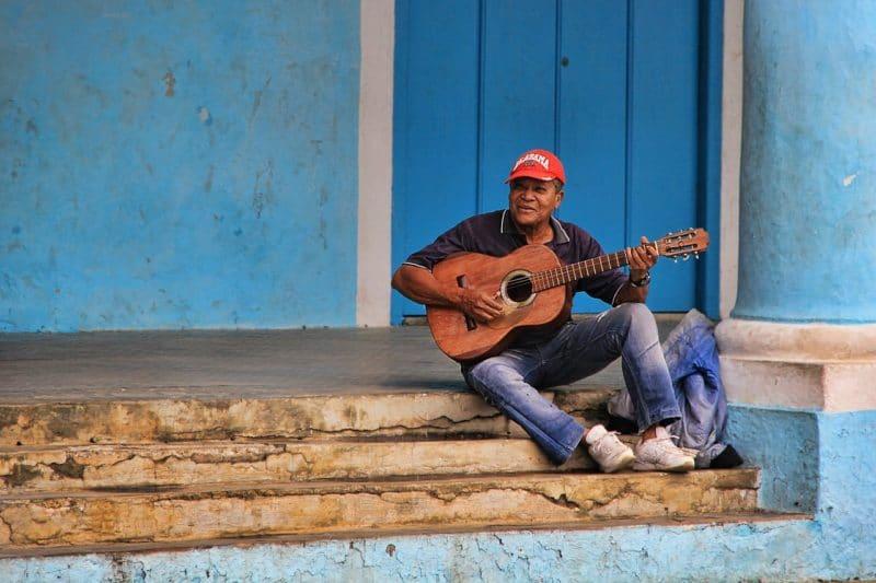 Musicien, Santiago de Cuba