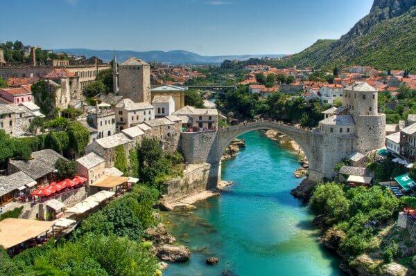 Visiter Mostar et son célèbre pont en Bosnie