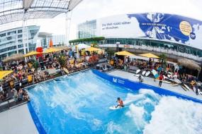 Surf aéroport Munich août 2014