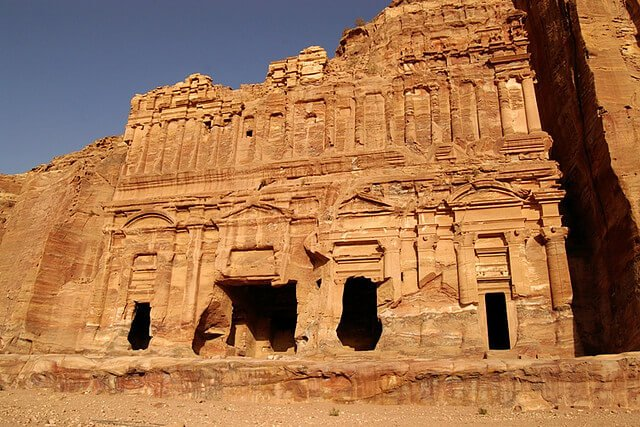 Tombe Palais ou tombeau à étages, Petra, Jordanie