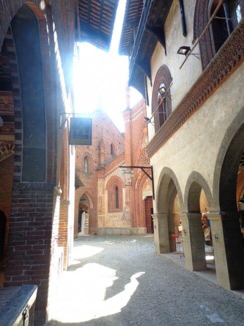 Turin visite village médieval