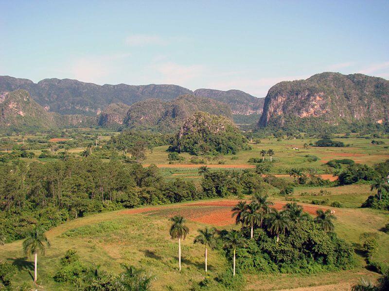 Vallée de Viñales, plantations de tabac, cigares Cuba