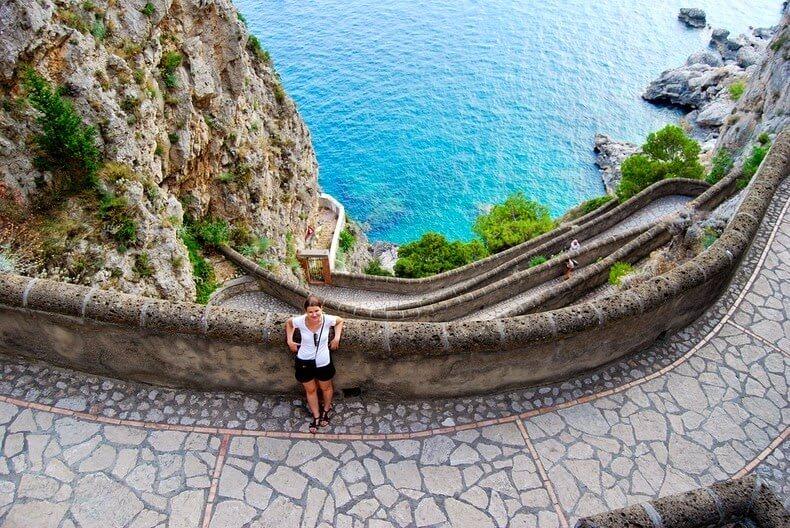 Via Krupp Capri, Italie