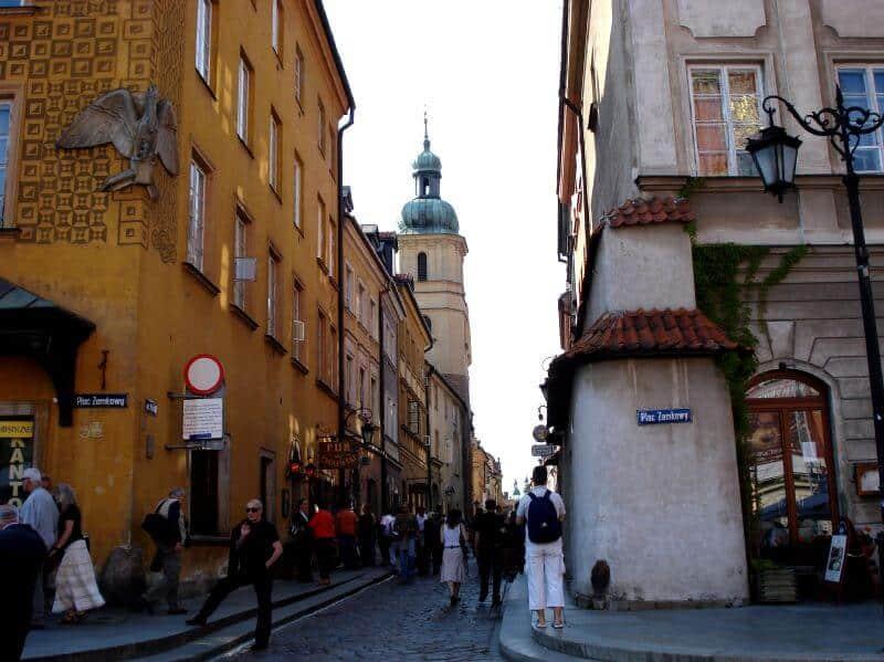 Visitez Varsovie avec un guide privé