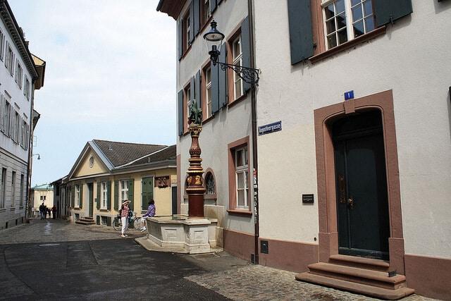 Augustinergasse, Munsterplatz, Bâle