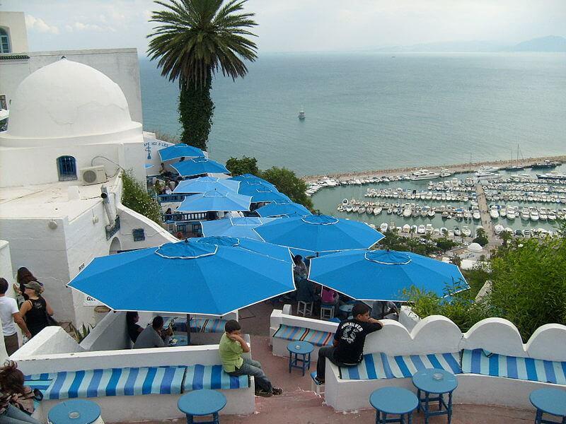 Café des Délices à Sidi Bou Saïd, Tunis
