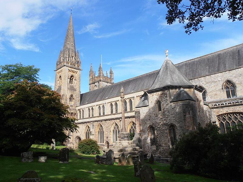 Cathédrale de Llandaff à Cardiff