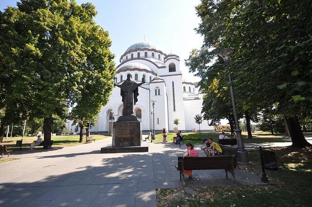 Cathédrale Saint-Sava, Belgrade