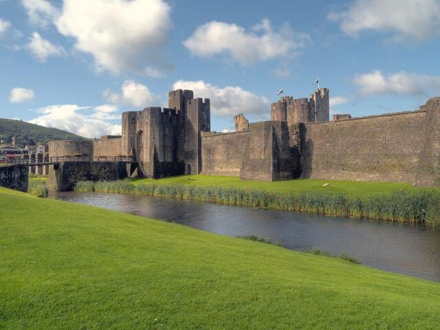 Château de Caerphilly, Cardiff