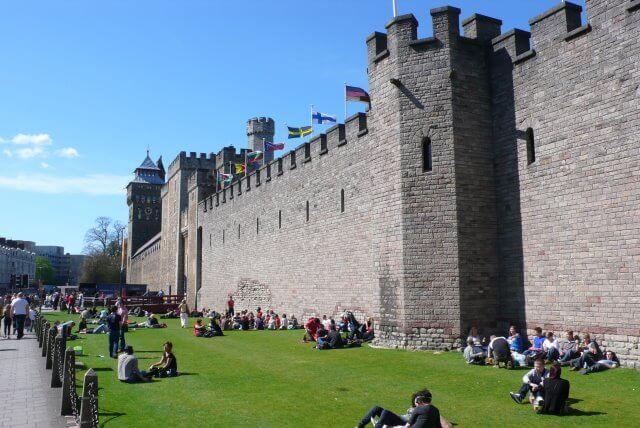 Château de Cardiff, Pays de Galles