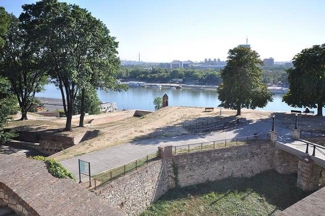 Forteresse de Belgrade, Danube, Serbie