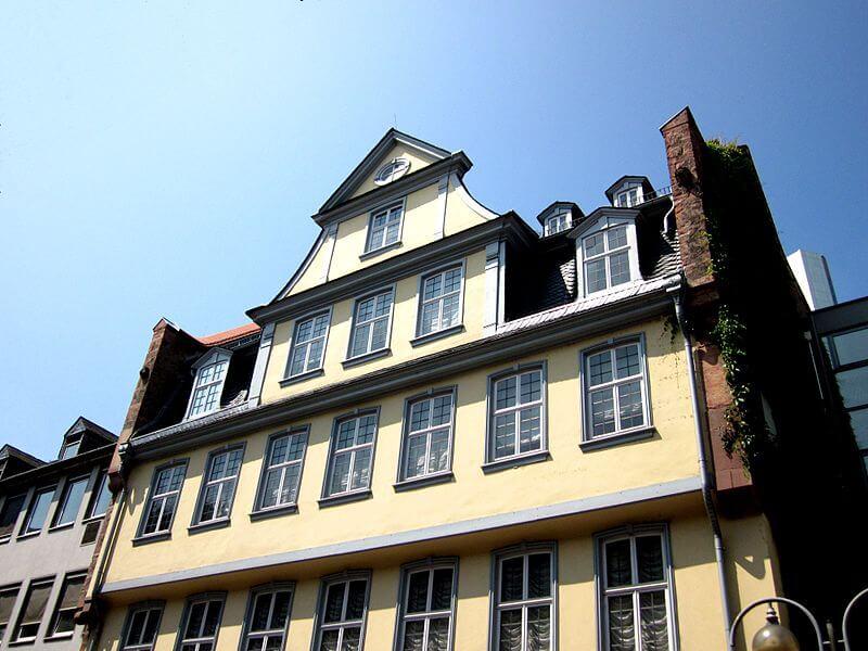 Maison de Goethe à Francfort