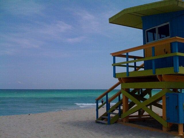 Miami Beach, plage Miami