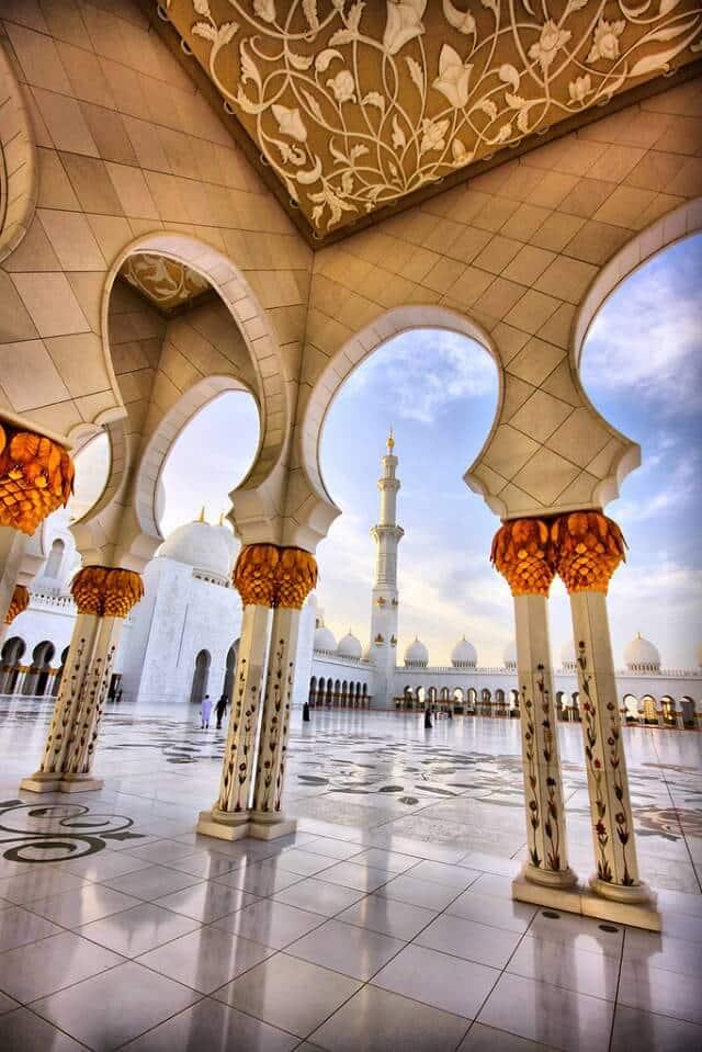 Mosquée Cheikh Zayed, Abu Dhabi