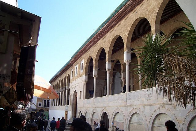 Mosquee Zitouna, Tunis
