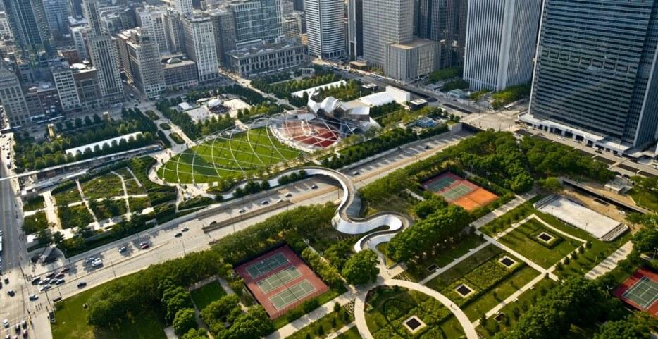 Parcs urbains dans le monde pour échapper à l'effervescence de la ville