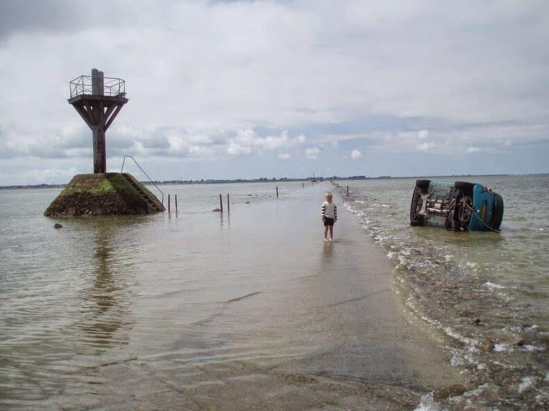 Passage du Gois, marée