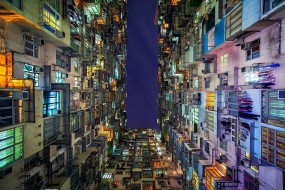 Photo de gratte-ciels à Hong Kong par Peter Stewart