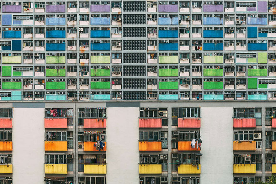 Photo de gratte-ciels à Hong Kong par Peter Stewart