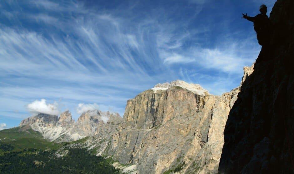 photos de spots d'escalades impressionnants