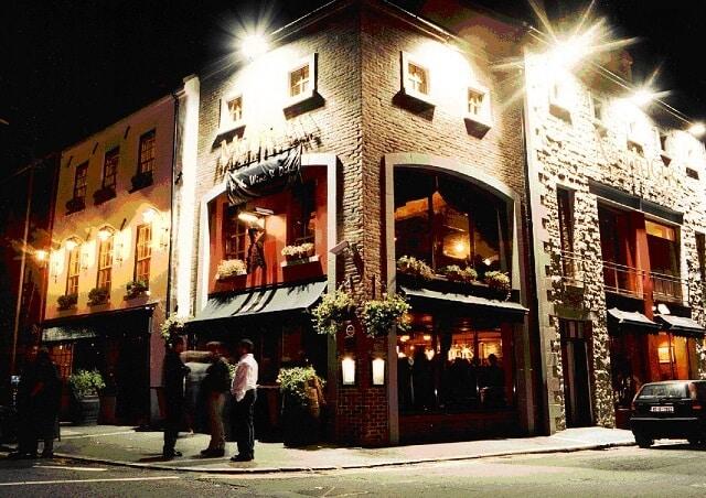 Pub vie nocturne Belfast