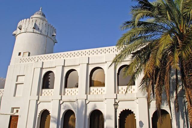 Qasr Al-Hosn, palais Abu Dhabi
