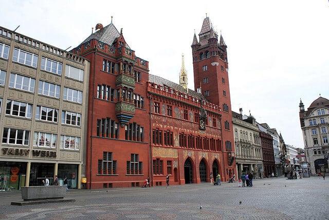 Rathaus Basel, Hotel de ville de Bâle