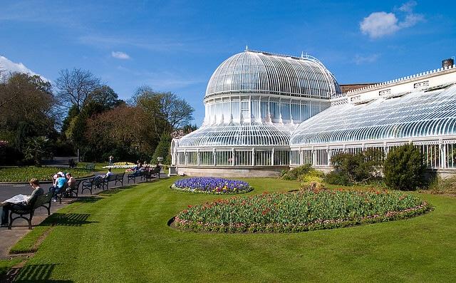 Serre des jardins botaniques de Belfast