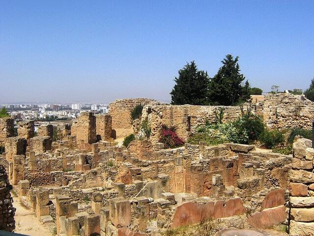 Site archéologique de Carthage, Tunis