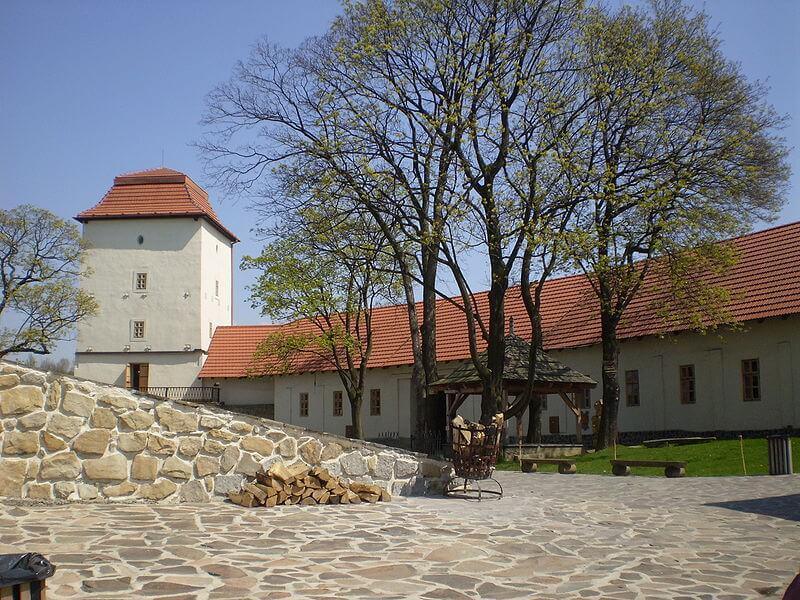 Slezskoostravský hrad, château silésien d'Ostrava