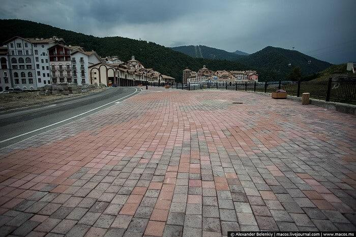 Sotchi, ville fantôme, ville abandonnée, jeux olympiques