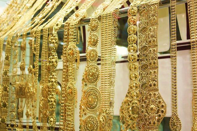 Souk d'or à Abu Dhabi