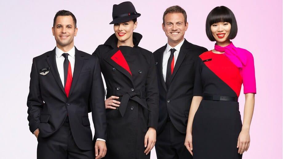 Uniforme Qantas
