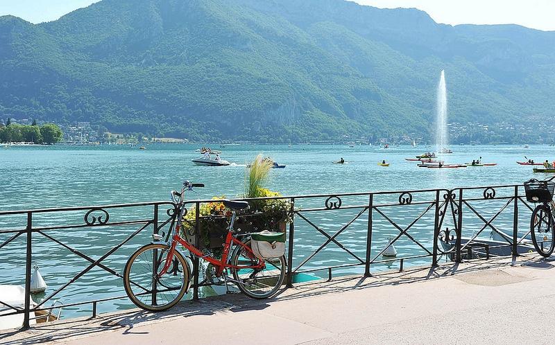 Location de vélo, Annecy