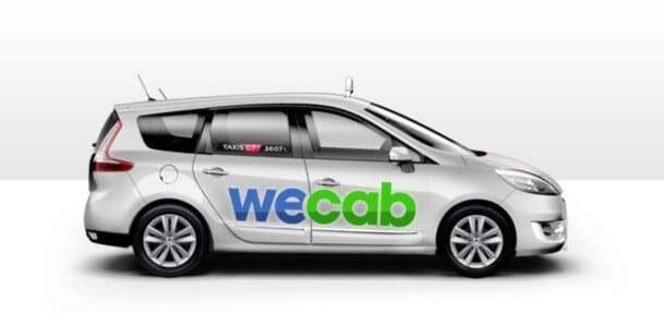 Voiture taxi Wecab