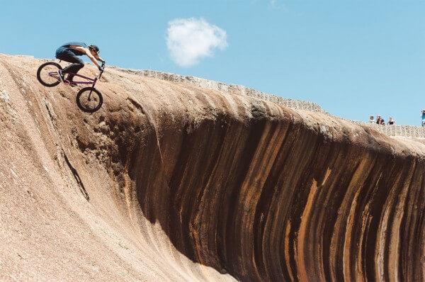 Wave Rock, une vague dans les terres d'Australie
