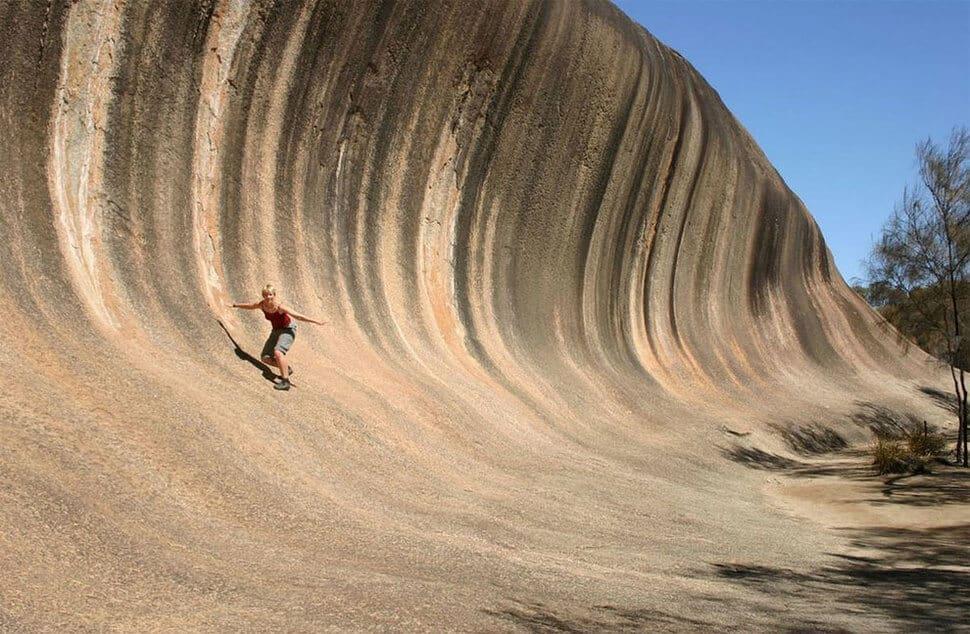 Wave Rock, Hyden, Australie, rocher vague