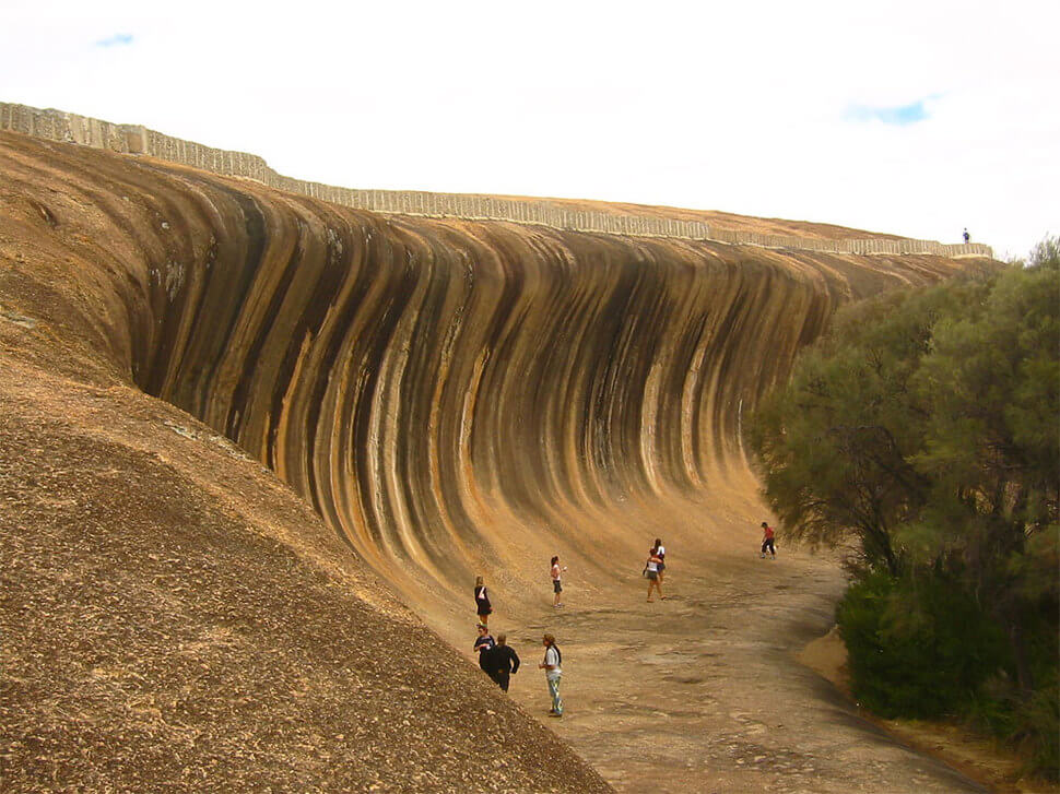 Wave Rock, Hyden, Australie, rocher vague