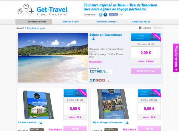 Get-Travel, misez pour gagner des voyages