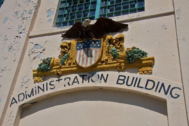Administration Building, Prison d'Alcatraz