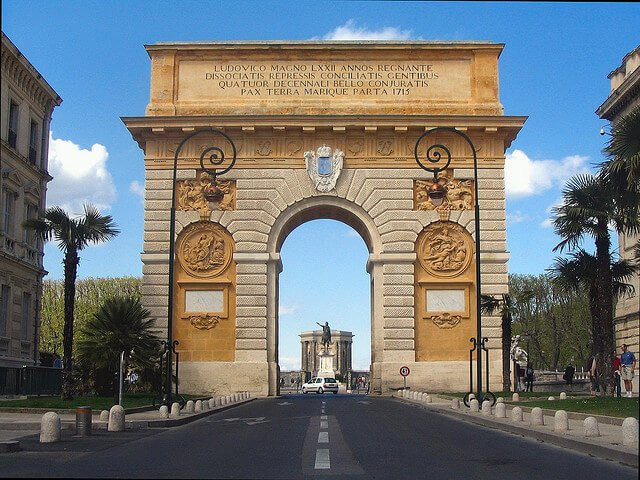 Arc de triomphe, Montpellier