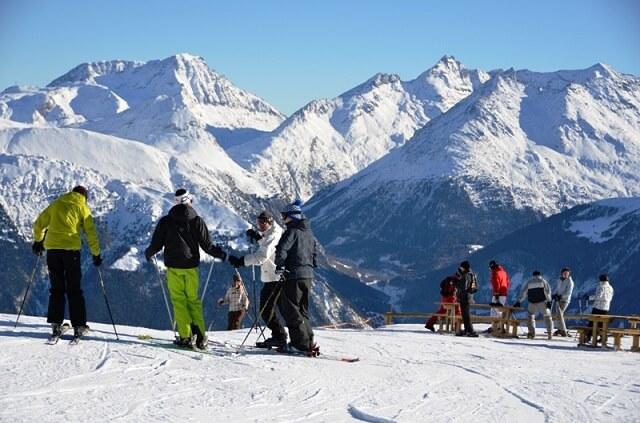 Aussois, station de ski