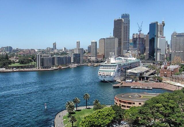 Baie de Sydney, croisière sur un voilier