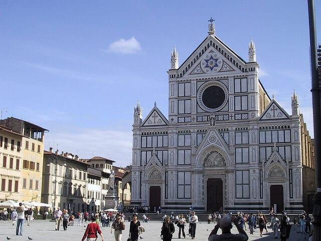 Basilique Santa Croce, Florence