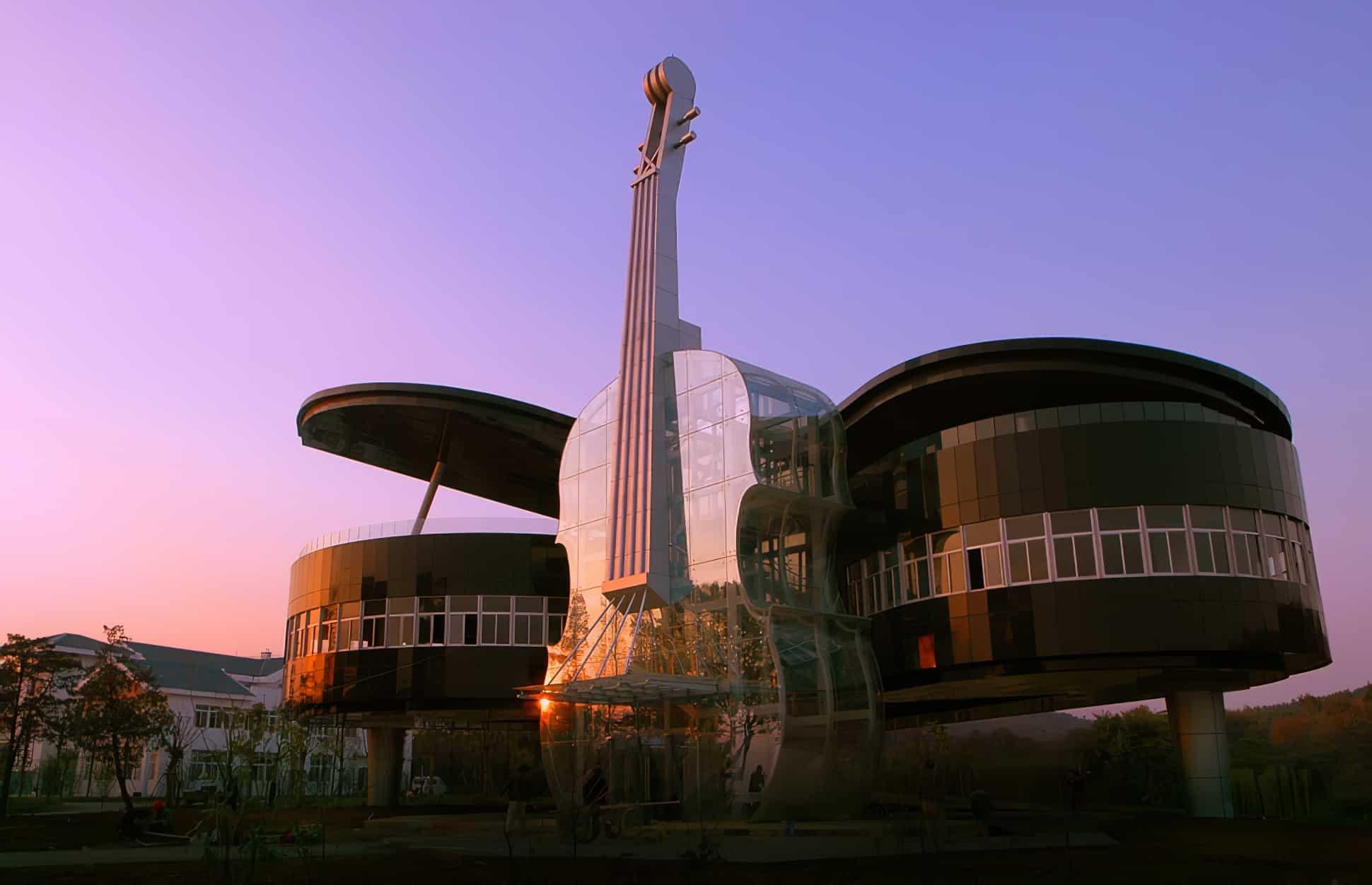 50 bâtiments brisant toutes les conventions de l'architecture traditionnelle