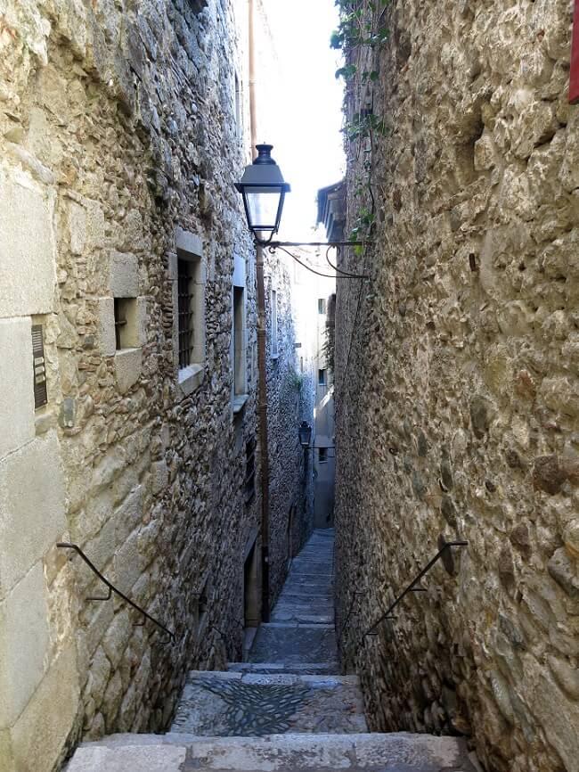 Carrer de Sant Llorenç, Call Jueu, Gérone