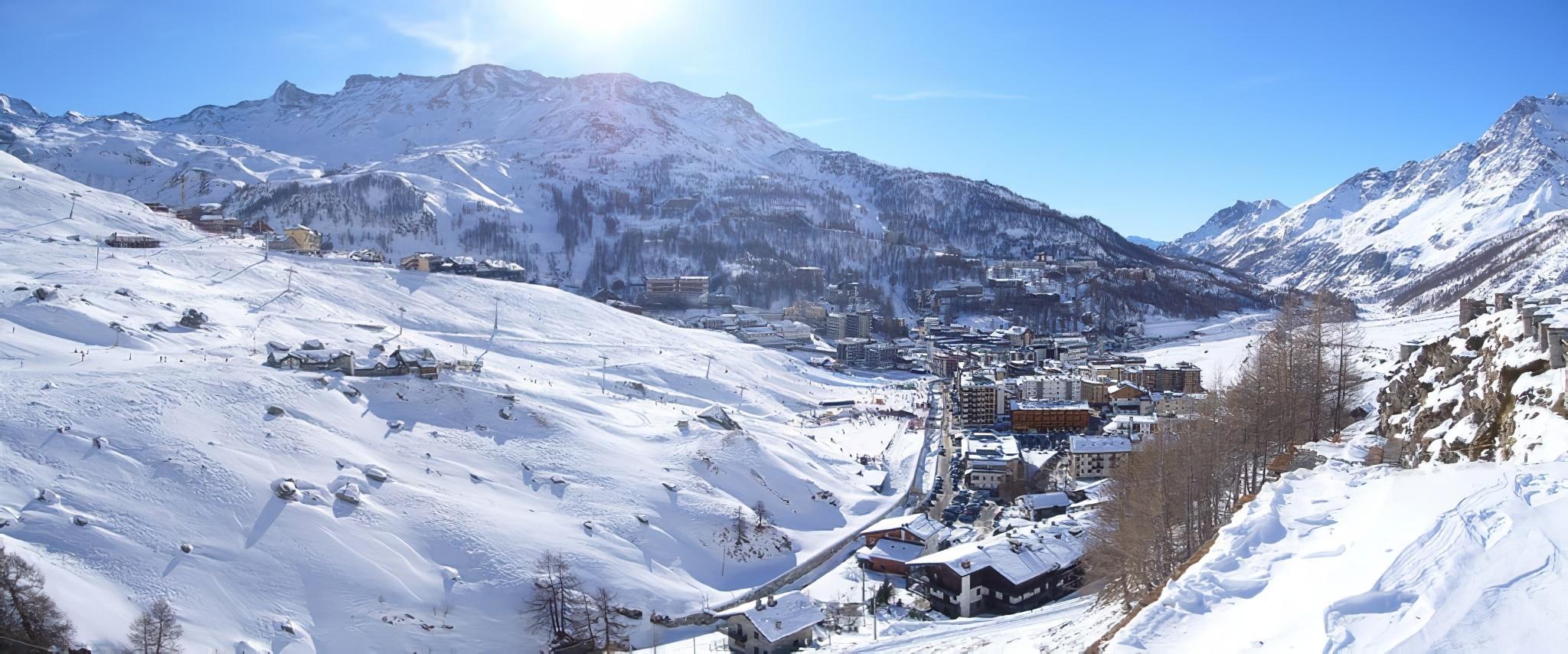 Cervinia ski