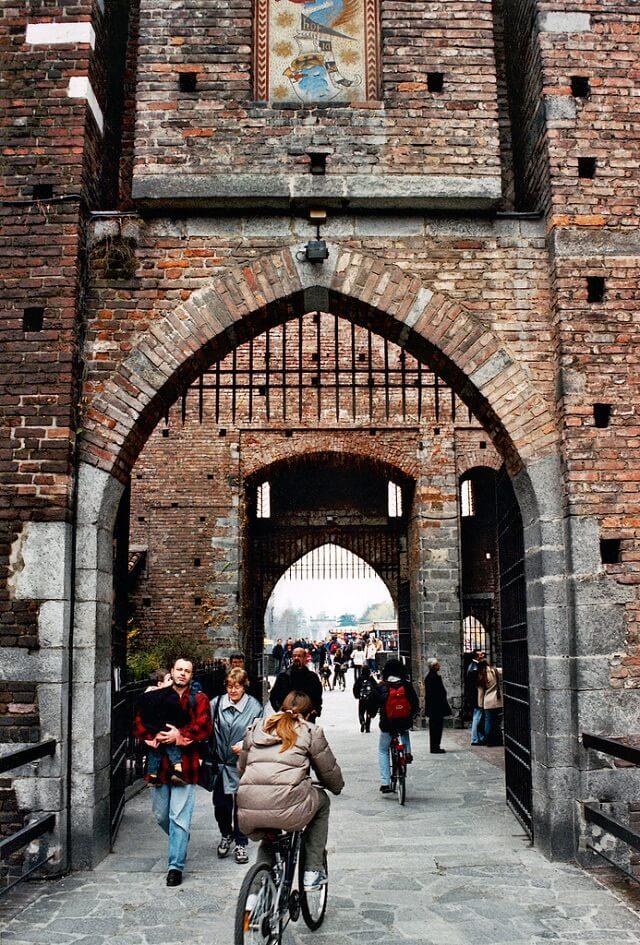 Château Sforza, Castello Sforzesco, Milan