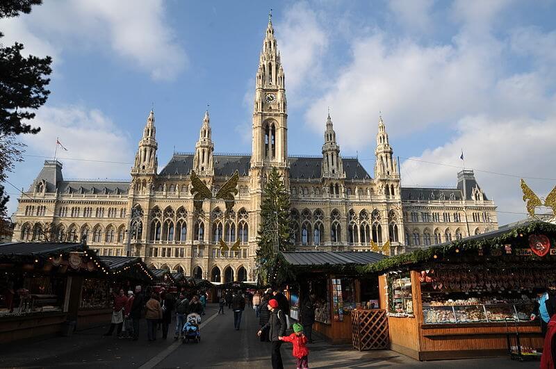 Christkindlmarkt, Marché de Noël, Vienne